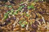 Rybí polévka chřtán — Stock fotografie