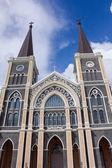 Beautiful St Maria church. — Stock Photo