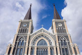 Beautiful St Maria church. — 图库照片