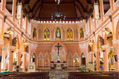 Inside of St Maria Church. — Stock Photo