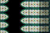 Abstract stained glass of window — Stock Photo