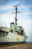 Battleships to Be Decommissioned in Thailand, Remembrance Luang — Stock Photo