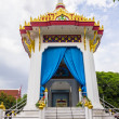 Cremation place in Thai temple — Stock Photo