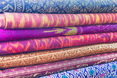 Colorful abstract textile — Stock Photo