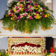 Stock Photo: Buddhist funeral.