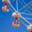 Ferris wheel with blue sky. — Stock Photo #36220993
