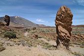 Altas montanhas vulcânicas de teide — Foto Stock