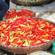 Vietnamese Peppers at a Local Market — Stock Photo