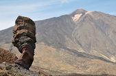Teide volkanik yüksek dağlar — Stok fotoğraf