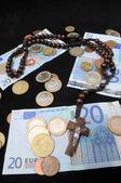 Christ et l'argent — Photo