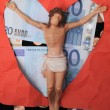 Christ and Money — Foto Stock