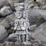 Maya Statue — Stock Photo