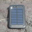 Solar Panel - energy on the beach — Stock fotografie