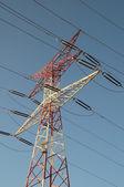Polo di elettricità — Foto Stock