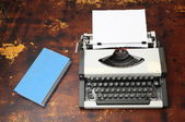 Vintage Travel Typewriter — Foto de Stock