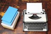 Vintage Travel Typewriter — Stock Photo
