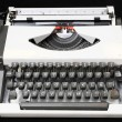 Travel Vintage Typewriter — Stock Photo