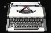 Travel Vintage Typewriter — Stock Photo