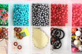 Materials to Produce Handmade Jewelry — Stock Photo