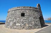 Gray Bunker on a Blue Sky — Stock Photo