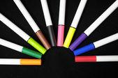 Marqueurs de couleur d'encre — Photo