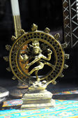 Indian God Golden Statue — Foto Stock
