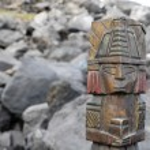 Maya Statue — Stock Photo #33239321