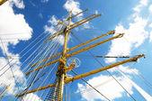 Kran-masten — Stockfoto