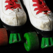 Stock Photo: Consumed Roller Skate