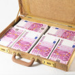 Suitcase Full of Banknotes — Stock Photo #33497139