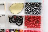 Materials to Produce Handmade Jewelry — Stock Photo
