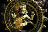 Indian God Golden Statue — Stock Photo