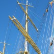 Stock Photo: Crane masts