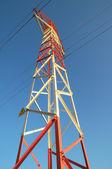 Electric Power Line Pylon — Stock Photo