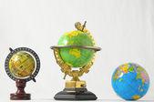 Mnoho globusy — Stock fotografie