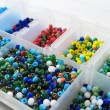 Stock Photo: Materials to Produce Handmade Jewelry