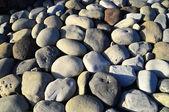 Kolo kamenů vyhlazen vodou — Stock fotografie