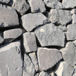 Stock Photo: Gray Rock Ancient Wall