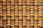 Brown Woven Rattan Background Pattern Texture — Photo