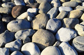 Round Rocks Smoothed by the Water — Stock Photo