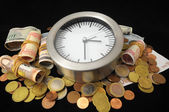 Time is Money Concept — Stok fotoğraf