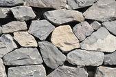 Gray Rock Ancient Wall — Stock Photo