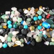 Colored Semi Precious Stones — Stock Photo