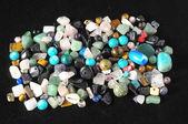 Colored Semi Precious Stones — Stock Photo