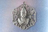 Silver Buddha Pendant Jewel — Stock Photo