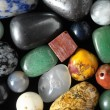 Stock Photo: Colored Semi Precious Stones