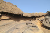 Antiche rocce vulcaniche — Foto Stock