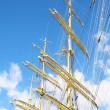 Crane masts — Stock Photo