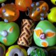 Murano Glass Stones — Stock Photo