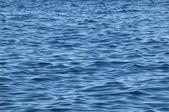 Textura de ondas de água azul — Fotografia Stock